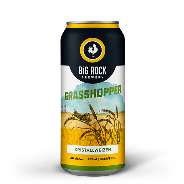 Grasshopper Beer | Big Rock Brewery